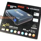 Manytel X50 Plus 1080P Full HD HDMI WIFI RJ45 Coaxial TV set Top Box Media Play