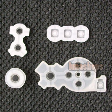 Replacement Conductive Rubber Pad Set for WII Joystick Controller