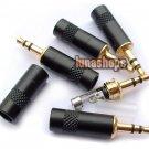 Lequn 3.5mm Plug Gold Plated solder type Adapter For DIY Fans