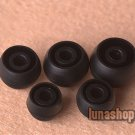 5 pairs/set Replacement Foam Tips Earcaps Earbuds tips for Monster earphone