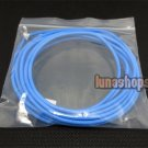 100cm Blue Skin ND Aoding Top-rated Silver Plated + shield Speaker Audio cable