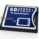 SD SDHC SDXC to Compact Flash CF Type II Memory Card Adapter Support UDMA