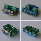 Solderless Welding Free VGA Female 15pin Module plug DIY 9+2*3 + ID-Bit Adapter
