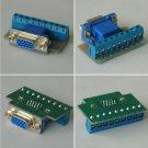 Solderless Welding Free VGA Female 15pin Module plug DIY D-Sub HD15 Adapter