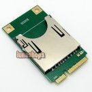 SD SDHC TF MMC Memory Card to laptop Mini PCI-e reader adapter as SSD PA-MR04
