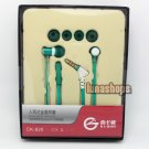 XKDUN CK-820 In-ear Stereo + Microphone Earphone Headset For Iphone PC Tablet