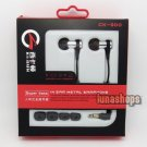 XKDUN CK-900 In-ear Stereo Metal Earphone Headset For 2ds 3ds PSV