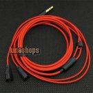 C8 1.2m  Handmade Cable For Senheiser IE8 IE80 earphone headset Red Limited