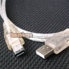 C8 1.2M USB MALE TO IEEE 1394 6 PIN FIREWIRE TRAVEL CABLE NOT Support Data Trans
