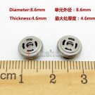 C8 2pcs 8.6mm Speaker Unit For Earphone Headset Repair Update DIY Custom