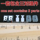 C8 protection silica + iron patch + unit seal cotton For Shure SE535 Earphone