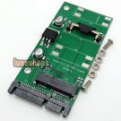C8 Mini PCI-e Mini mSATA SSD to 2.5 inch SATA Adapter converter card