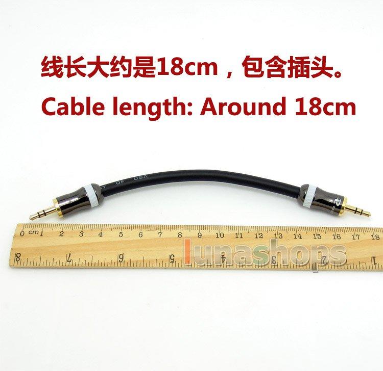 C8 3.5mm Pailiccs Male Hifi Headphone Amplifier AMP audio Dia6mm Shield cable