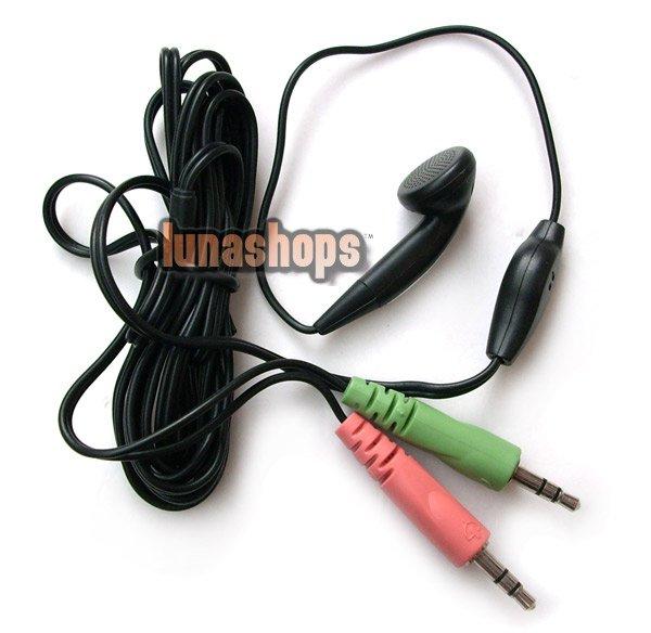 C8 Headset Headphones Earphone with Microphone Mic PC Skype