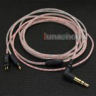 C8 5N OFC Soft Clear Skin Earphone Cable For Westone W4r JH Audio 0.78mm pins