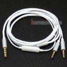 C0 White + Mic Cable For Sol Republic Master Tracks HD V8 V10 V12 X3 Headphone