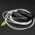 C0 3p XLR Cable For HiFiMan HE400 HE5 HE6 HE300 HE560 HE4 HE500 HE600 Headphone