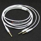 C0 White 5n OFC Cable For Sol Republic Master Tracks HD V8 V10 V12 X3 Headphone