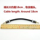 C0 3.5mm Pailiccs Male Hifi Headphone Amplifier AMP audio Dia6mm Shield cable