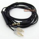 C0 1.2m Handmade Cable + Remote For Westone W4r UE18 UE18PRO UM3XRC ES5 earphone