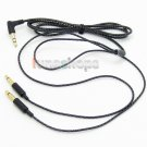 C0 3.5mm L Audio upgrade Cable For Denon AH-D600 D7100 Velodyne vTrue Headphone
