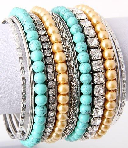 Bohemian Queen 11Pc Bracelet set