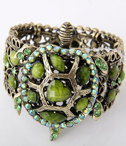 Elegant Turtle Bracelet