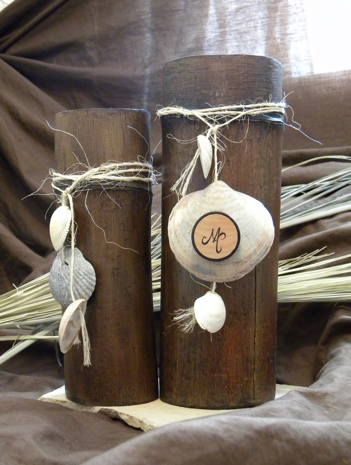 Bamboo Candle Collection