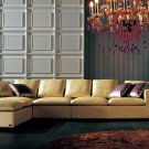 Armani Golden Leather Sectional Sofa