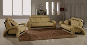 Bentley Beige Contemporary Living Room Set