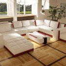 Costa Rico Contemporary leather Living Room Furniture
