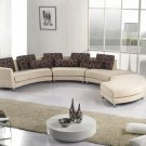 Fabric Beige Sectional Sofa