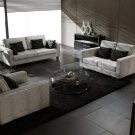 Modern White Vip Sofa Set