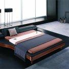 Portofino adjustable modern leather bed