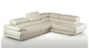 Principe Full Leather Sectional Sofa