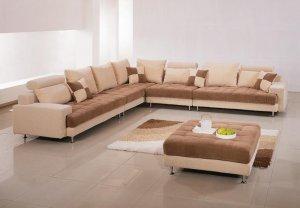 Sectional Sofa With Ottoman