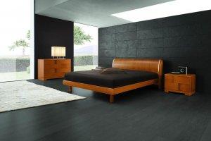 Trendy Cherry Bedroom set - made in Italy