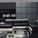 Ultra Modern Leather Sectional Sofa