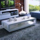 White Modern Serena Coffee Table