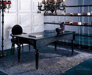 AA701-180 Office Desk & AA0107 Black Chair