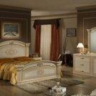 Opera - Italian Classic Beige-Gold Bedroom Set