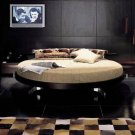 Historie Round Rotating Bed Made in Italy