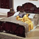 Serena Mahogany Traditional Italian Bed