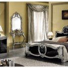 Barocco - Black Classic Italian Bed