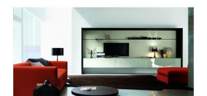 Contemporary Entertainment Center SMA STEP 24