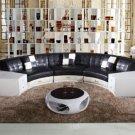 6007 - Modern Bonded Leather Sofa