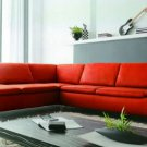 2915 - Modern Bonded Leather Sectional Sofa