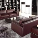 522 - Modern Bonded Leather Sofa Set