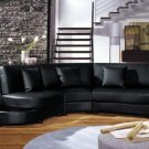 2229B - Modern Bonded Leather Sectional Sofa