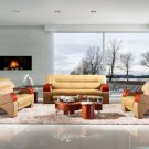 2034 - Modern Bonded Leather Sofa Set  Click to enlarge